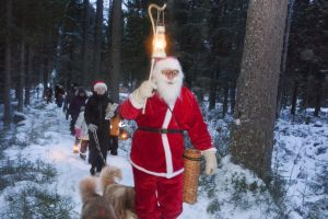 Joulupukki on mukana Möhkön joulutapahtumassa